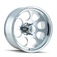"18"" x9 Ion Alloy 171 171P Polished 8x6.5 0 ET 171-8981P 4 Rims"
