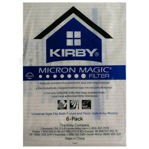 Originali Kirby 6 Sacchetti Filtro Per Tutti Modelli G4 G5 G6 G7 G8 G10 (204811)