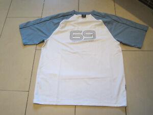 SALE: neues hochwertiges Shirt mit Kurzarm, weiß/grau, Gr. XXL, Masita Ultra Fit