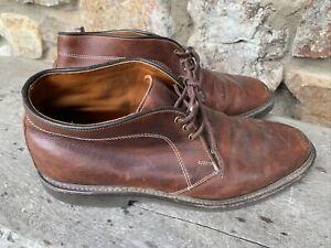 Allen Edmonds Kirkwood Leather Chukka Boots Sz 10 D