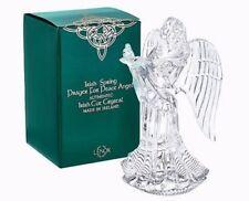 Lenox Irish Spring Prayer For Peace Angel Irish Cut Crystal Made In Ireland NEW