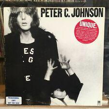 [Rock/Pop]~Exc Lp~Peter C. Johnson~Self Titled~[Og 1978~A&M~Wlp Promo]