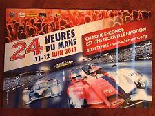 Le Mans Poster 2011 Original