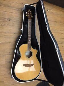 Breedlove Atlas Series AG25/SR Plus 6 String Acoustic Guitar