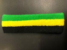 JAMAICA BLACK YELLOW GREEN HEADBAND ROOTS REGGAE RASTA