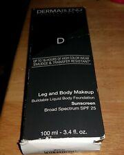 Dermablend leg and body makeup 3.4 fl oz FAIR IVORY