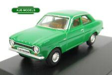BNIB OO GAUGE OXFORD DIECAST 1:76 76FE001 Ford Escort Mk1 Modena Green Car