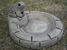 Frog Bowl baignoire oiseaux abreuvoir Pierre Décoration De Jardin