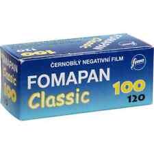 10 Rolls Fomapan 100 Black and White 120 Film