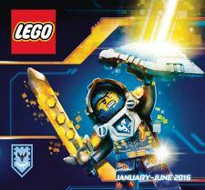 Lego catalogue 1HY 2016 Jan-May Nexo Knights cover Australia version BN