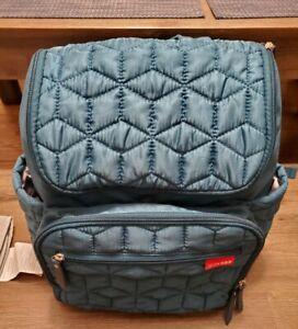 Skip Hop Forma Diaper Bag Backpack Peacock