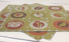 """Ikea Busig Pack of 4 Placemat, Table Decor, 15""""x15"""""""