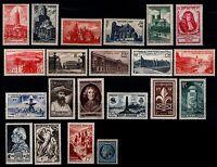 L'ANNÉE 1947 Complète, Neufs * = Cote 21 € / Lot Timbres France 772 à 792