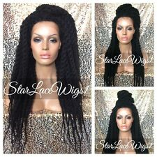 Twisted Locks Box Braided Lace Front Wig Senegal Havana Marley Poetic Justice