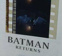 Batman Returns (1992) Movie Authentic Film 5-Cells Strip THE BATMOBILE