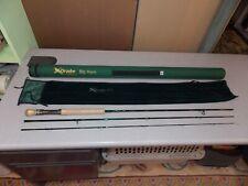 Drake Big Horn Fly Rod by Quarrow Model Db-7/8.5-3 7wt 8-1/2' 3-pc Unused w/Case