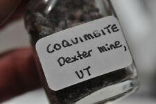 Coquimbite, etc. - Dexter #7 Mine, Utah, USA - rare mineral, old specimen