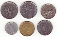 Konvolut Münzen aus Italien. 6 münzen