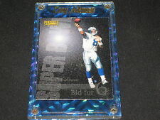TROY AIKMAN COWBOYS LEGEND 1996 AUTHENTIC PACK PULLED FOOTBALL CARD WITH HOLDER