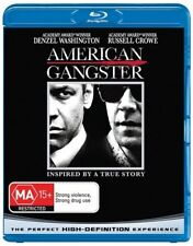 American Gangster (Blu-ray, 2008) Denzel Washington  Russell Crowe