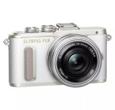 Olympus Pen E-PL8 16.1MP 14-42MM Compact System Camera - White UK-Model