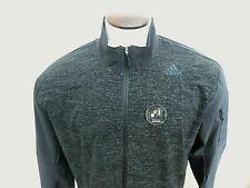 Adidas Running Mens Supernova Storm Zip up reflective jacket Black Large NWT