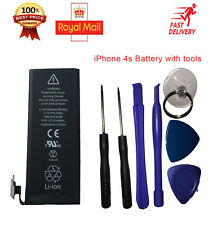 Genuine Replacement Battery for iPhone 4s 1430mAh with Complete Free Tools Kit