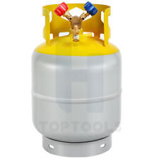 R410ar134a Refrigerant Recovery Tank With Y Valve 30lb Pound 400 Psi New