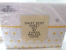 DAISY SPOT SHEET SET BY KAREN WALKER HOME KING BED SHEET SET