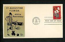 US FDC #1271 Sarzin M-29 1965 Saint St. Augustine FL Florida Settlement