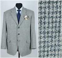Mens PRINCIPLES UK 42S Check Houndstooth Dogtooth Wool Sport Coat Blazer Jacket