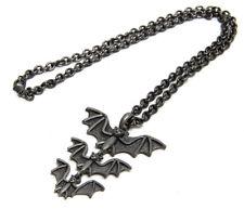 Bat Family Necklace