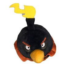 """Angry Birds Black Orange Space Bomb 7"""""""