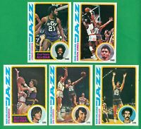 1978-79 TOPPS NEW ORLEANS JAZZ TEAM SET  NM/MT   ROBINSON  PETE MARAVICH