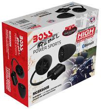 Boss MCBK600B 800W Motorcycle/ATV Sound System Bluetooth Audio Streaming Low $$