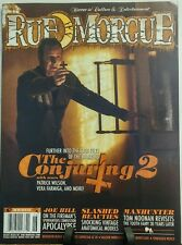 Rue Morgue June 2016 The Conjuring 2 Patrick Wilson Horror  FREE SHIPPING sb