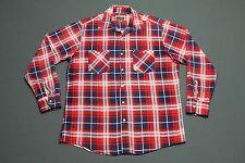 M * vtg 80s plaid flannel shirt * grunge * 93.3