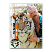Joe Exotic Tiger King Custom Novelty Baseball Trading Card - 2020 Style