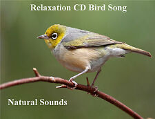 NATURAL SOUNDS, BIRD SONG CD FOR RELAXATION & SLEEP AID MEDITATION