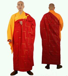 Shaolin monk dress Buddhist robe meditation kung fu clothes Haiqing lay clothes