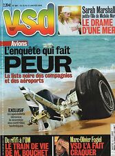 VSD N°1377 les bonobos franck ferrando sarah marshall crash charm-el-cheikh 2004
