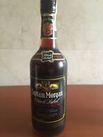 CAPTAIN MORGAN 86 Proof 43% Gr. RUM BLACK LABEL JAMAICA 750cc Vintage 1973/1976