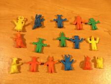 Vintage Rubber Keshi Figure Lot Clawman Kaiju Godzilla Rodan Ultraman Monster