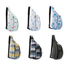 Travel Sling Bag Pack Crossbody Backpack Hiking Chest Bag Shoulder Bag Men Women