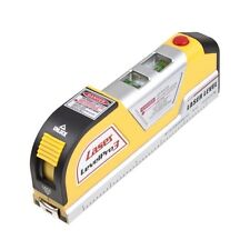 Newest Lines Laser Level Horizontal Vertical Line Measure Measuring Tape 8 FT