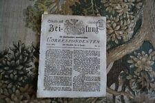 1814 Zeitung 55 / Georgien Tiflis / Reichenbach KIotzebue von Ortzen Alsterdorf