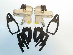 Rear Brake Wheel Cylinder Set w/ Fitting Kit Fits Alfa Romeo Giulietta & Giulia