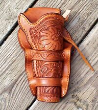 Redoog Leather, Cowboy Western Holster & Belt, FA Meanea rig! FREE SHIPPING!