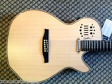 GODIN MULTIAC Spectrum Natural SG Guitar, NEW from Dealer !