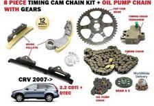 für Honda CRV 2.2 Dtec b22b3 2007- > Steuerkette Satz +Ölpumpenkette+